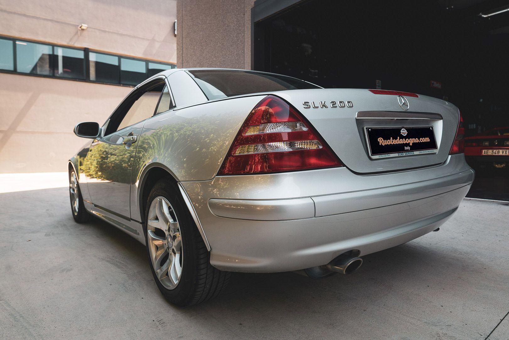 2004 Mercedes Benz 200 SLK Kompressor Special Edition 80724