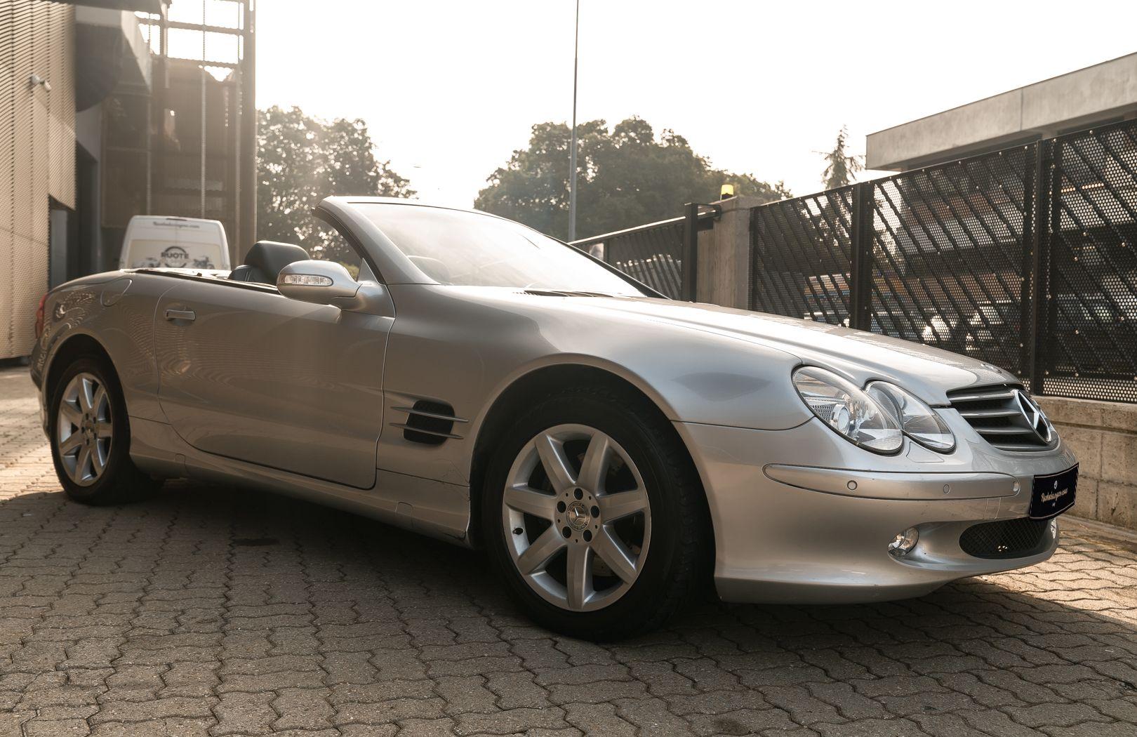 2002 Mercedes-Benz SL500 84155