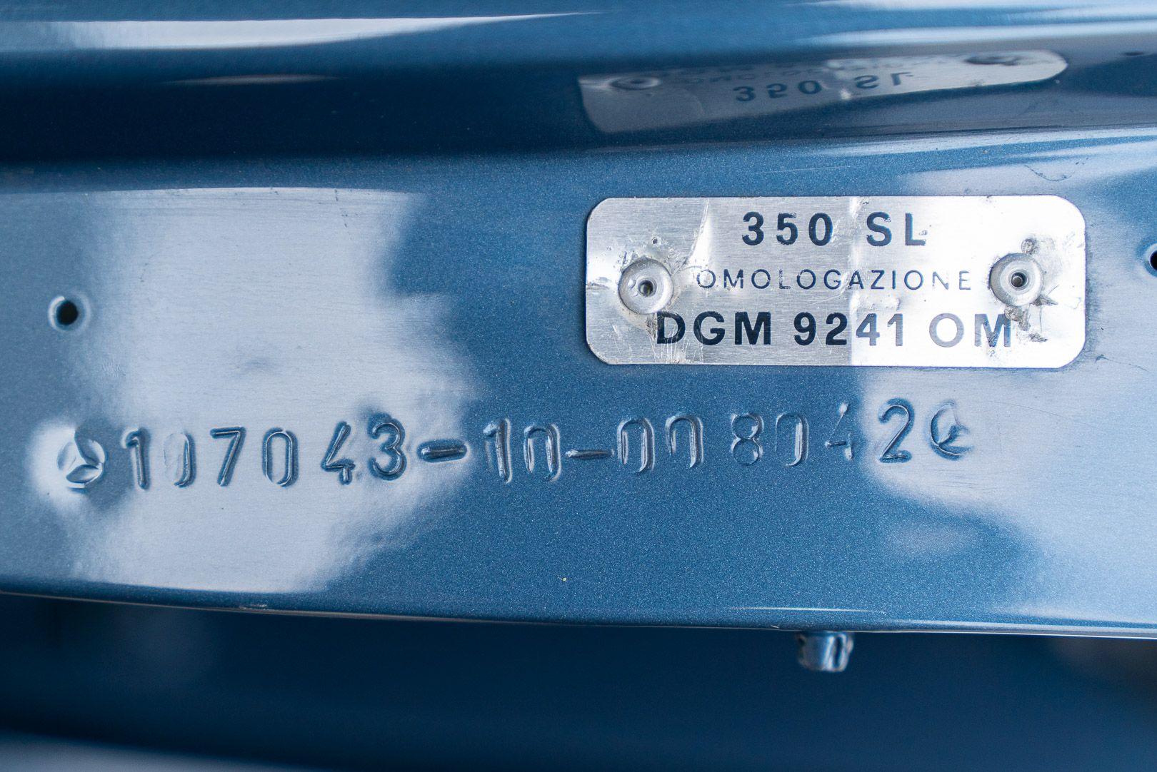 1972 Mercedes-Benz SL 350 78158