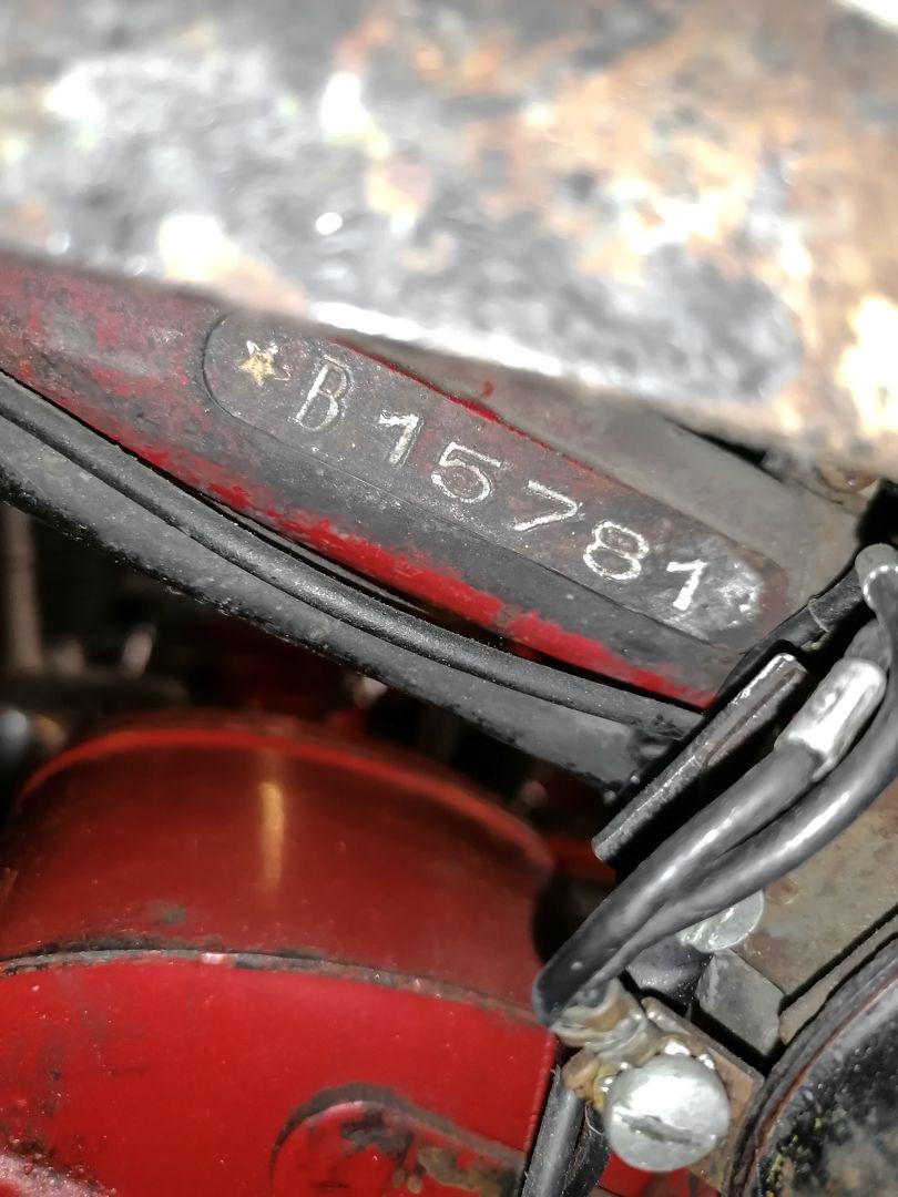 1957 Moto Morini Settebello 175 77609