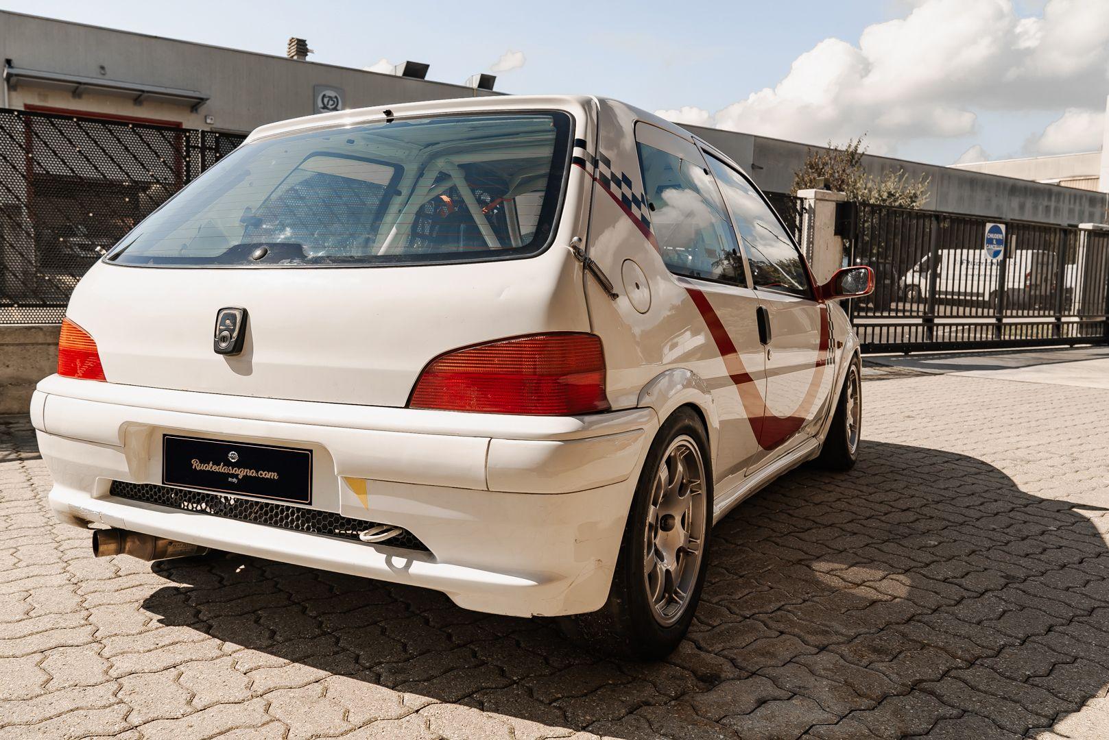 1998 Peugeot 106 Rallye S16 Group A 83080