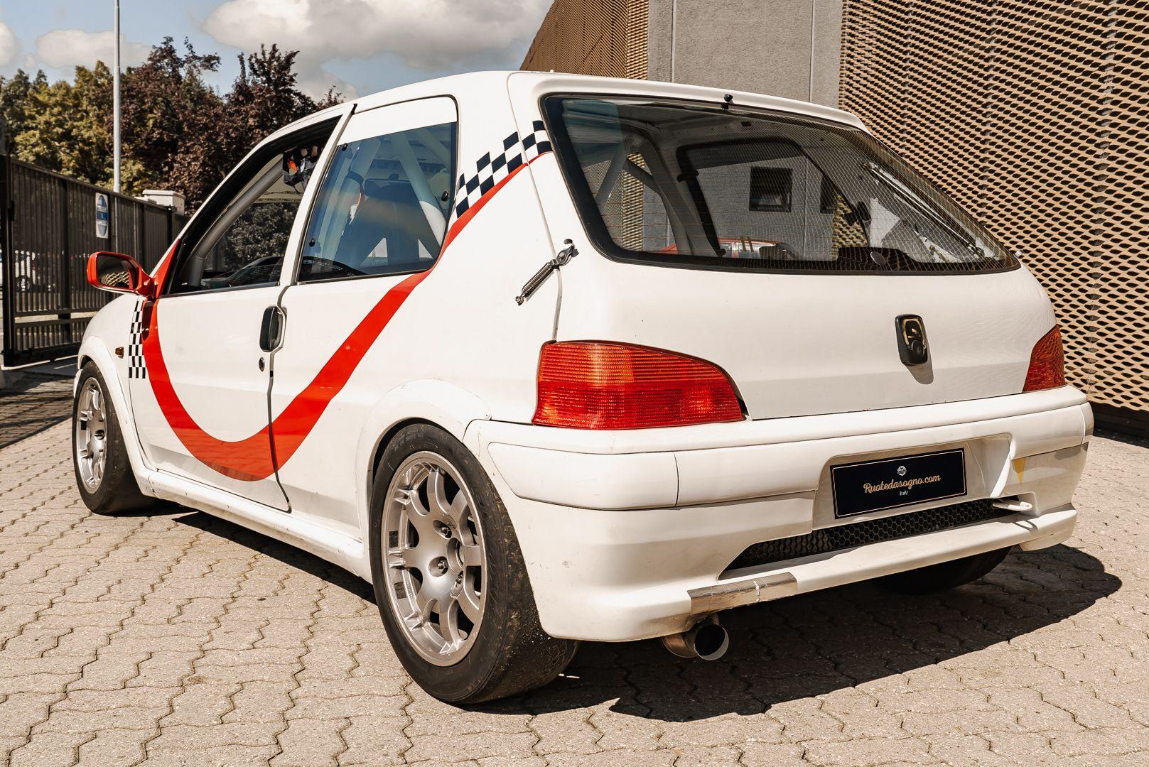 1998 Peugeot 106 Rallye S16 Group A 83081