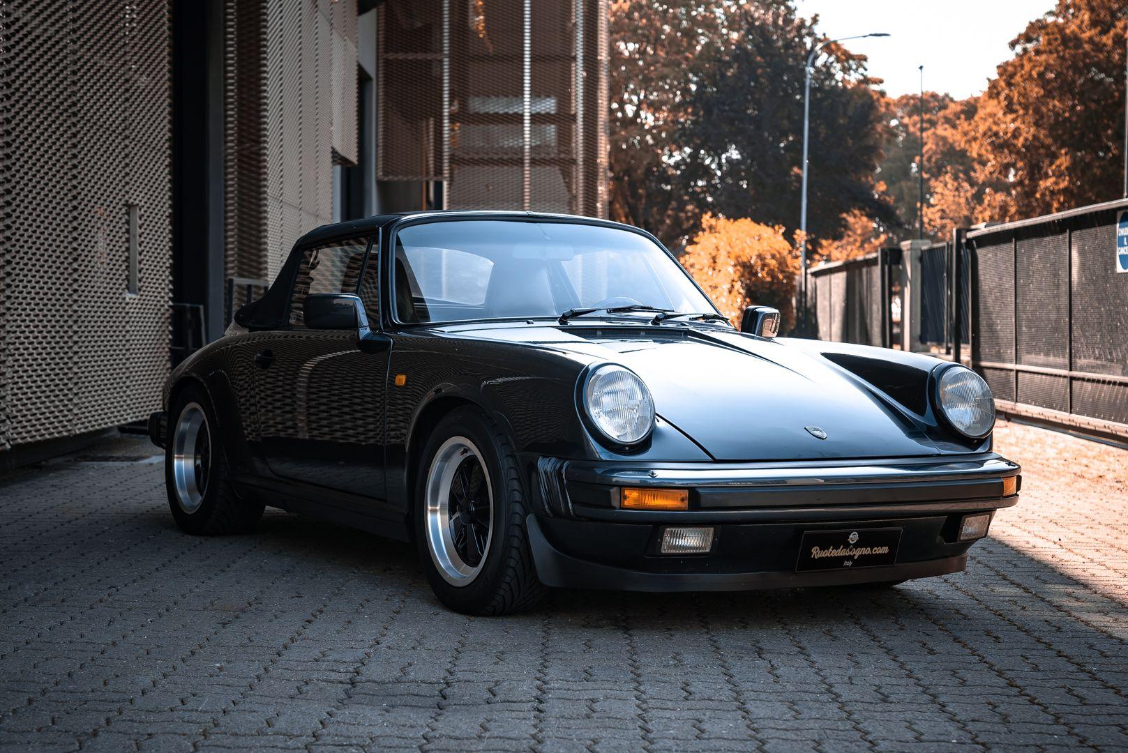 1986 Porsche 911 Carrera 3.2 Cabrio 70888