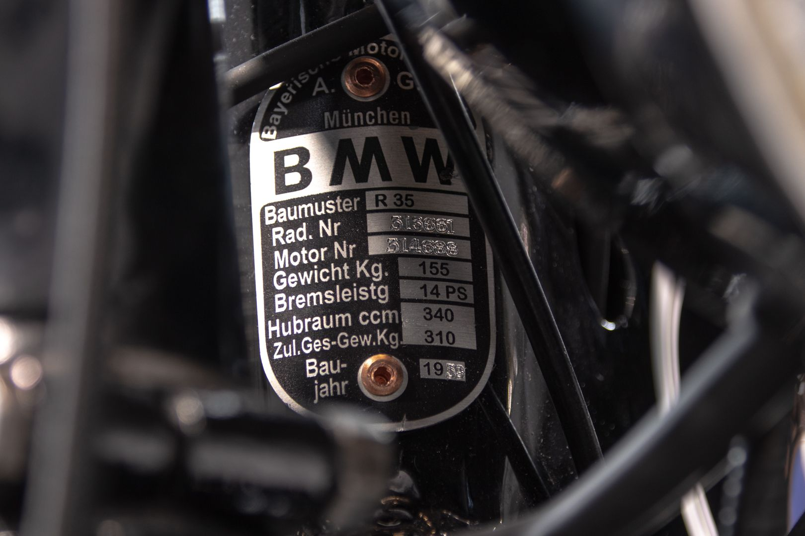 1939 BMW R 35 62349