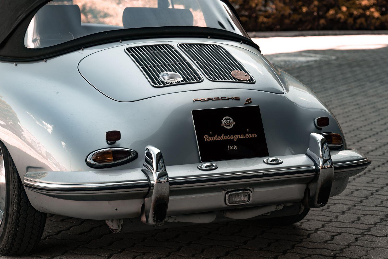 1963 Porsche 356 B 1600 S Cabriolet 76220