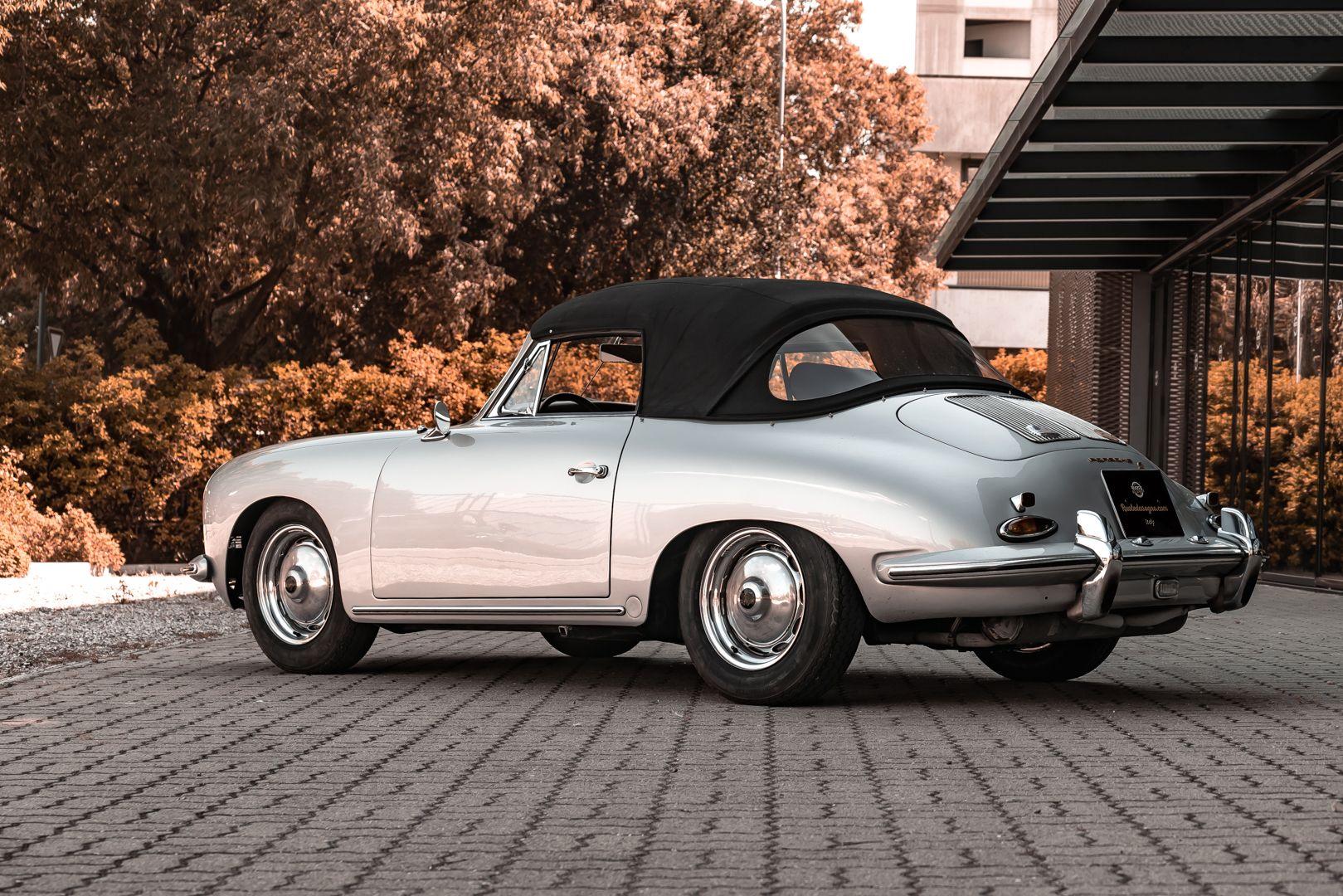 1963 Porsche 356 B 1600 S Cabriolet 76214