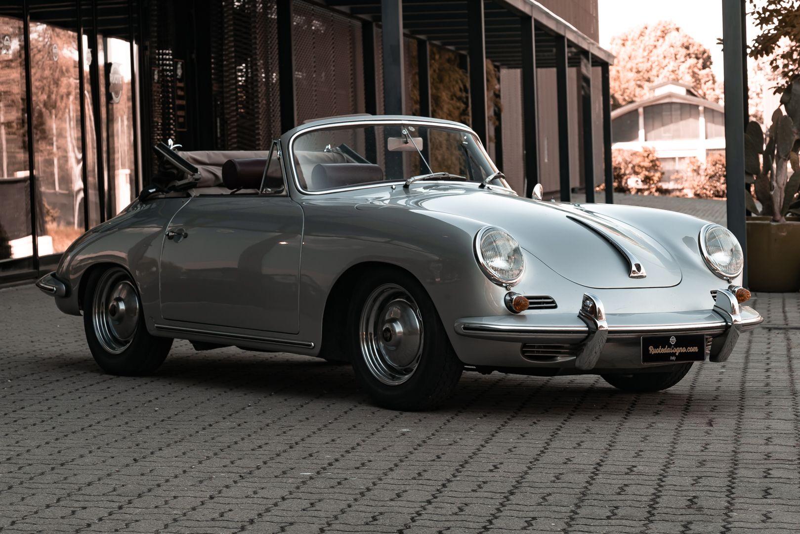 1963 Porsche 356 B 1600 S Cabriolet 76216