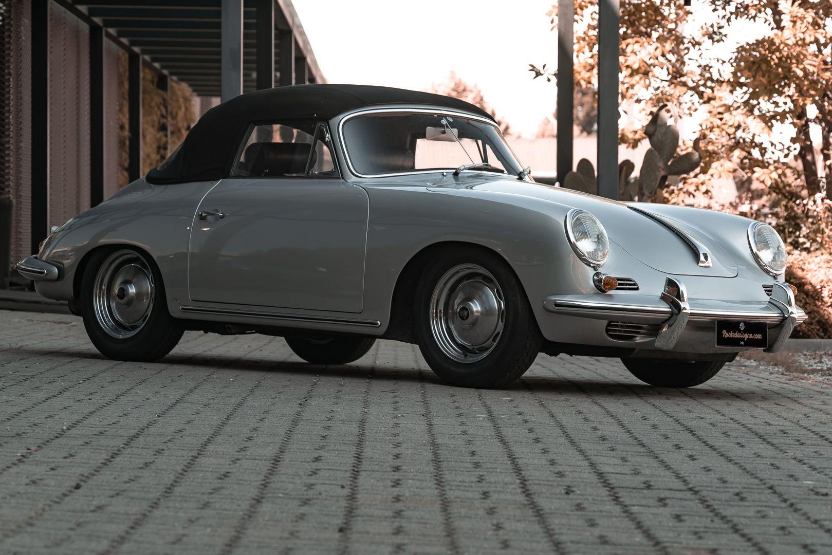 1963 Porsche 356 B 1600 S Cabriolet 76207