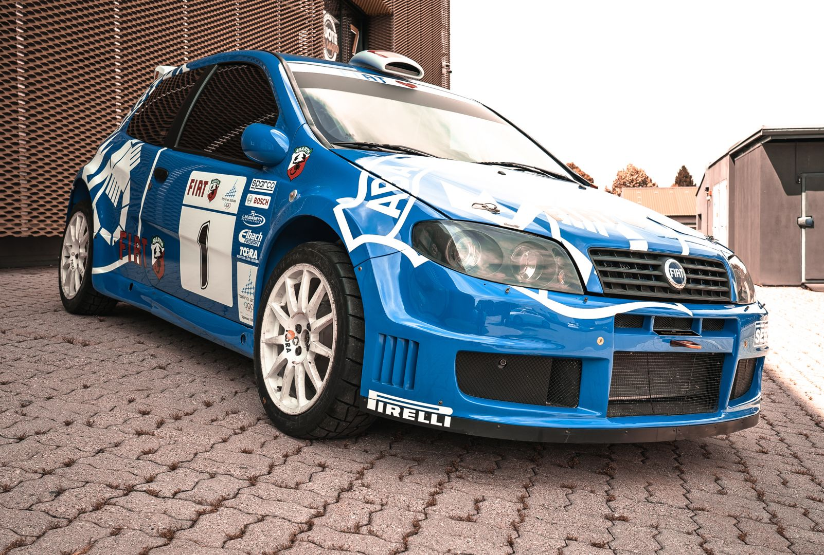 2004 Fiat Punto S1600 Rally 76542