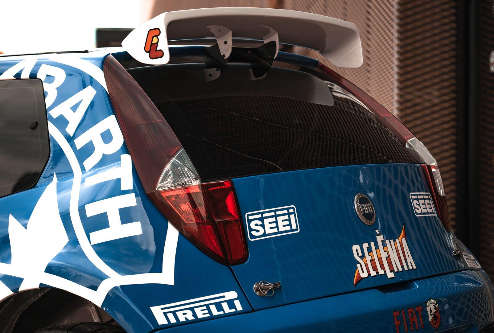 2004 Fiat Punto S1600 Rally 76548