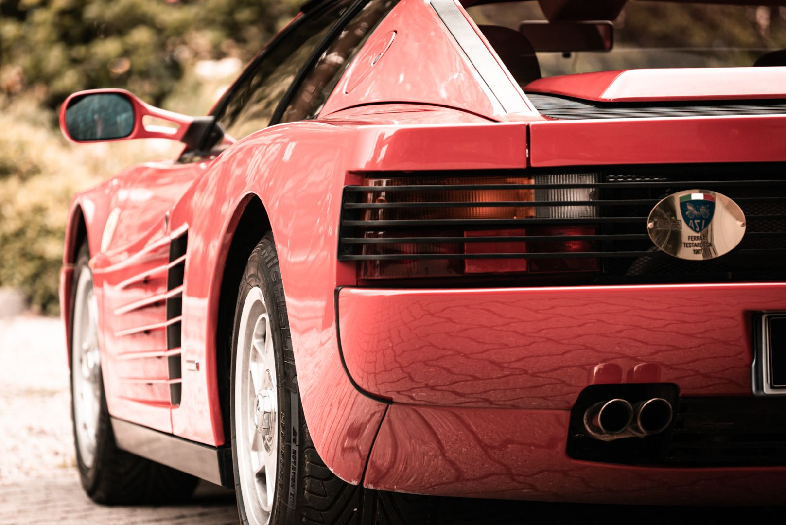 "1987 Ferrari Testarossa ""Monodado Bispecchio"" 76915"