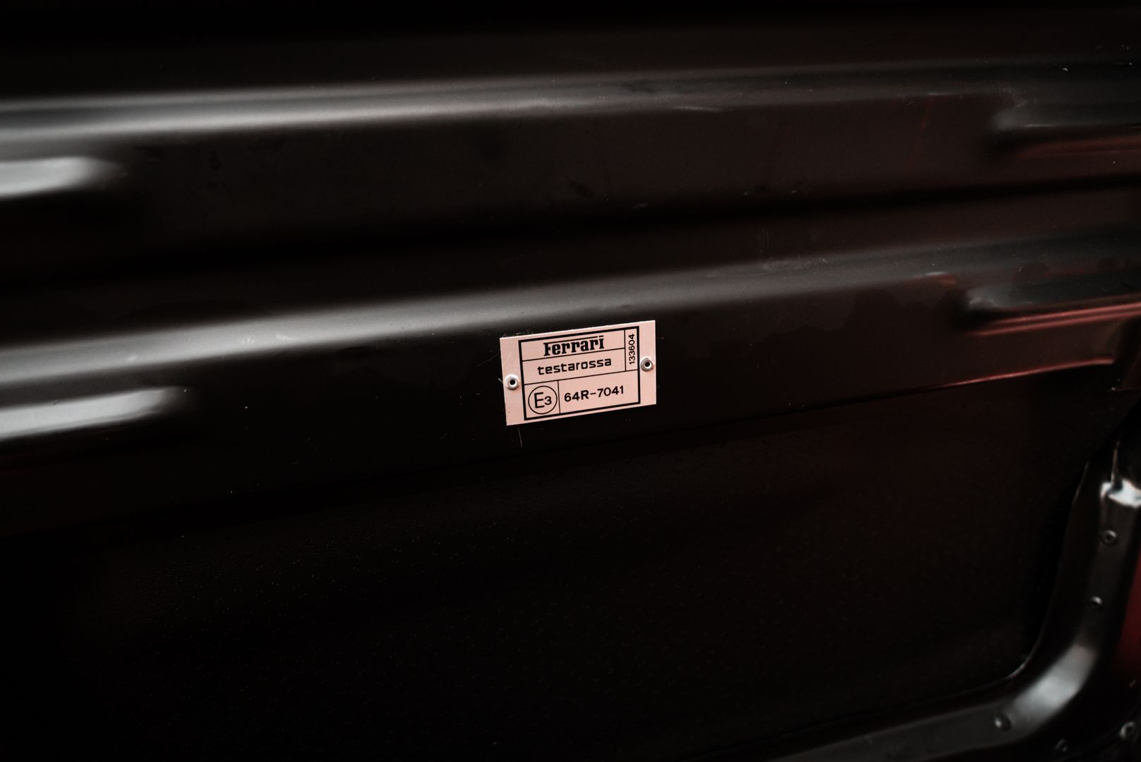 "1987 Ferrari Testarossa ""Monodado Bispecchio"" 76959"