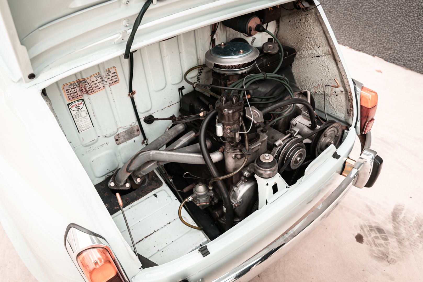 1968 Fiat Giannini 750 TV Turismo Veloce 77119