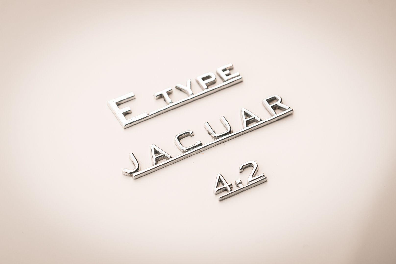 1968 Jaguar E-Type 4.2 Series 1 OTS 77001