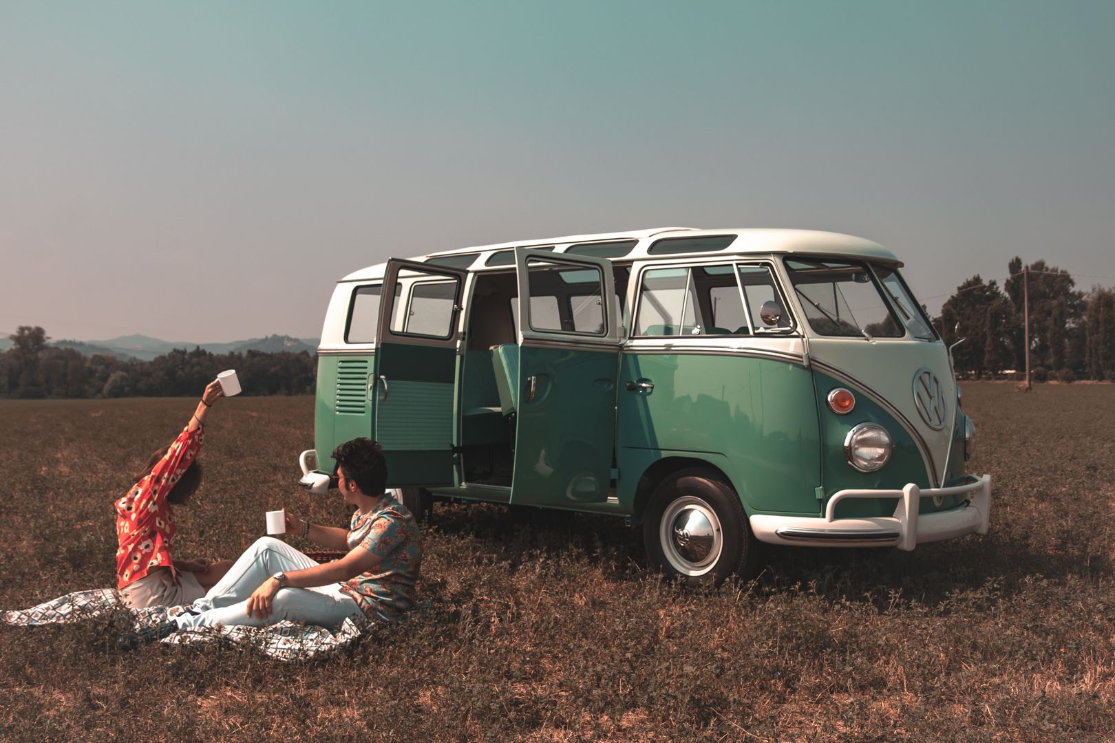 """1964 Volkswagen T1 """"21 windows"""" 64142"""
