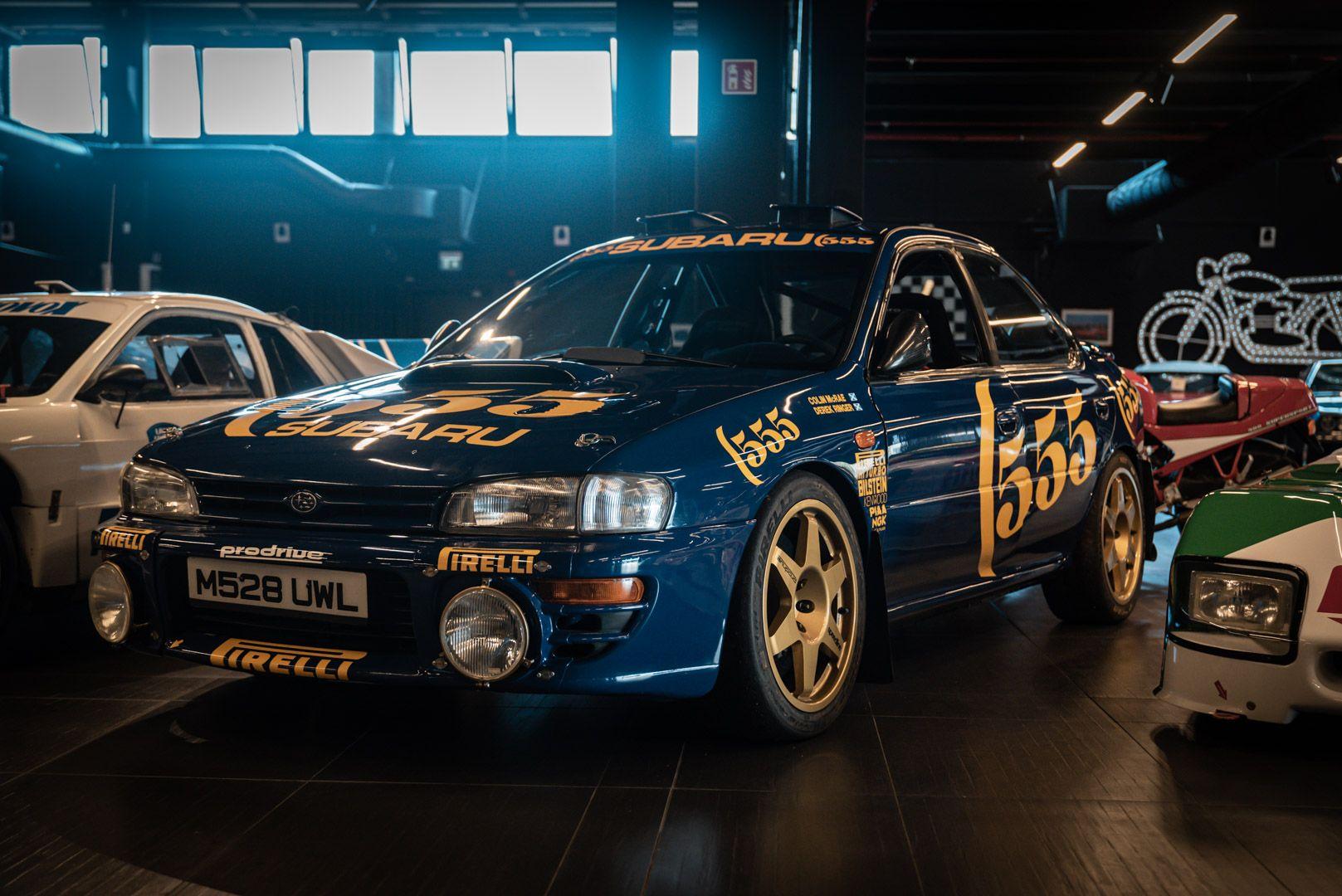 "1993 Subaru Impreza ""555"" Gr.A ex Colin McRae 82703"