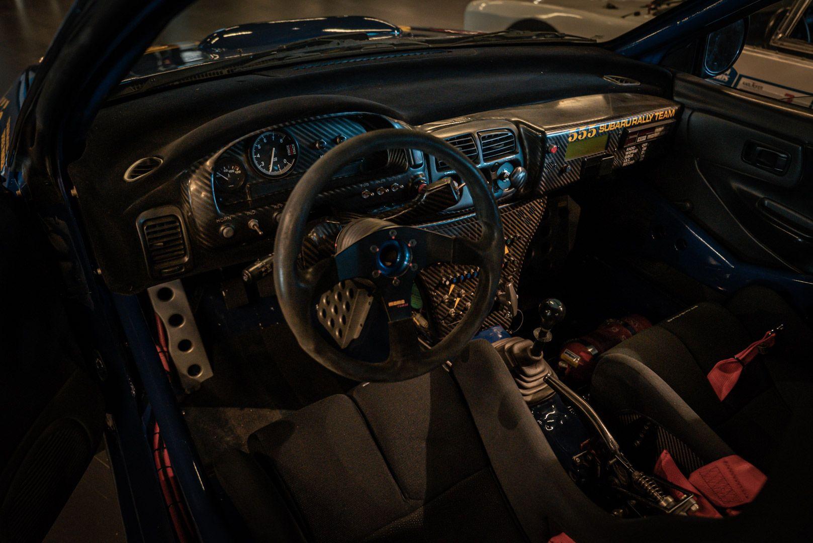 "1993 Subaru Impreza ""555"" Gr.A ex Colin McRae 82720"
