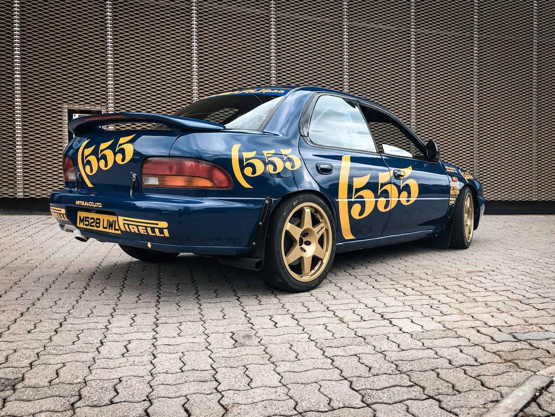 "1993 Subaru Impreza ""555"" Gr.A ex Colin McRae 82700"