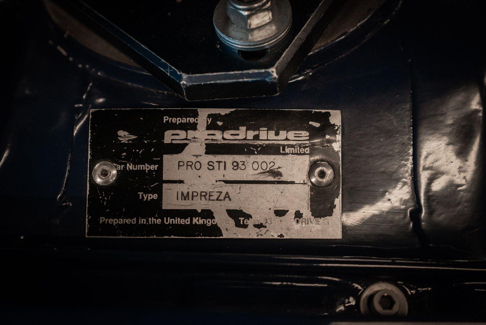 "1993 Subaru Impreza ""555"" Gr.A ex Colin McRae 82729"