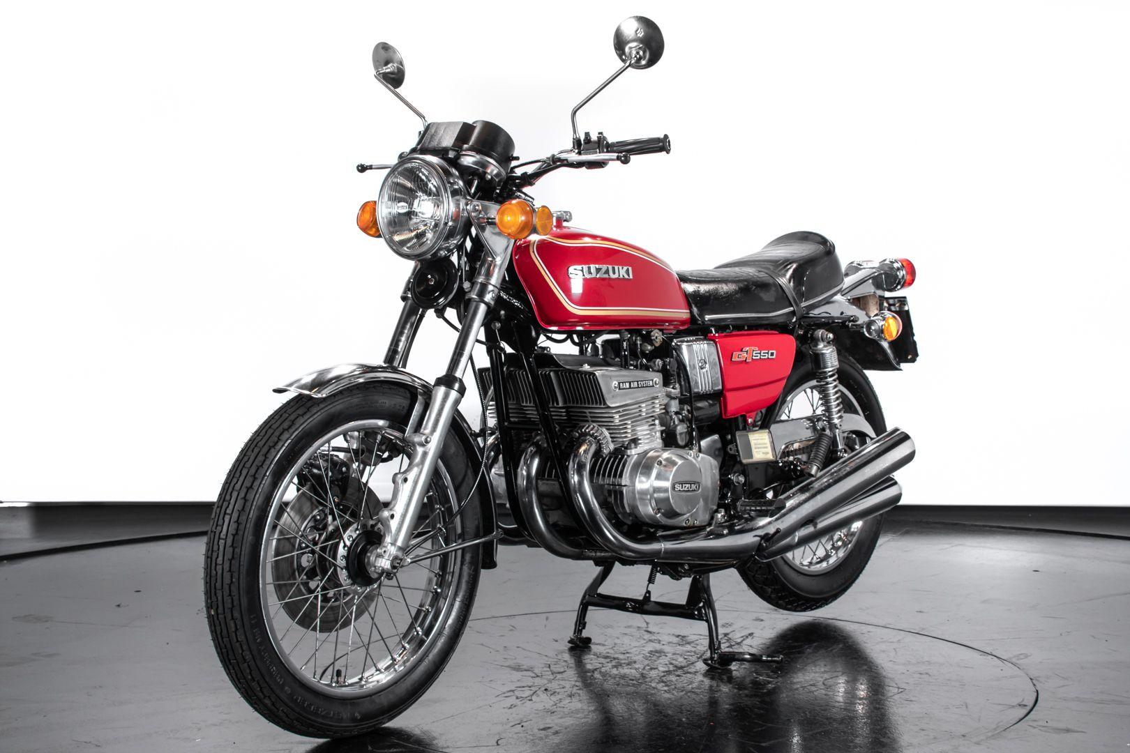 1980 Suzuki GT 550 78796