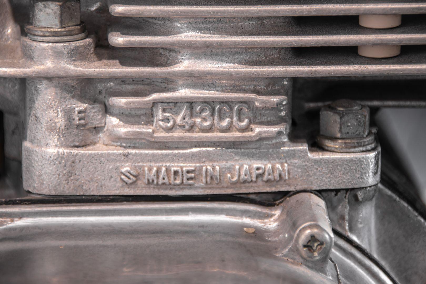 1980 Suzuki GT 550 78812