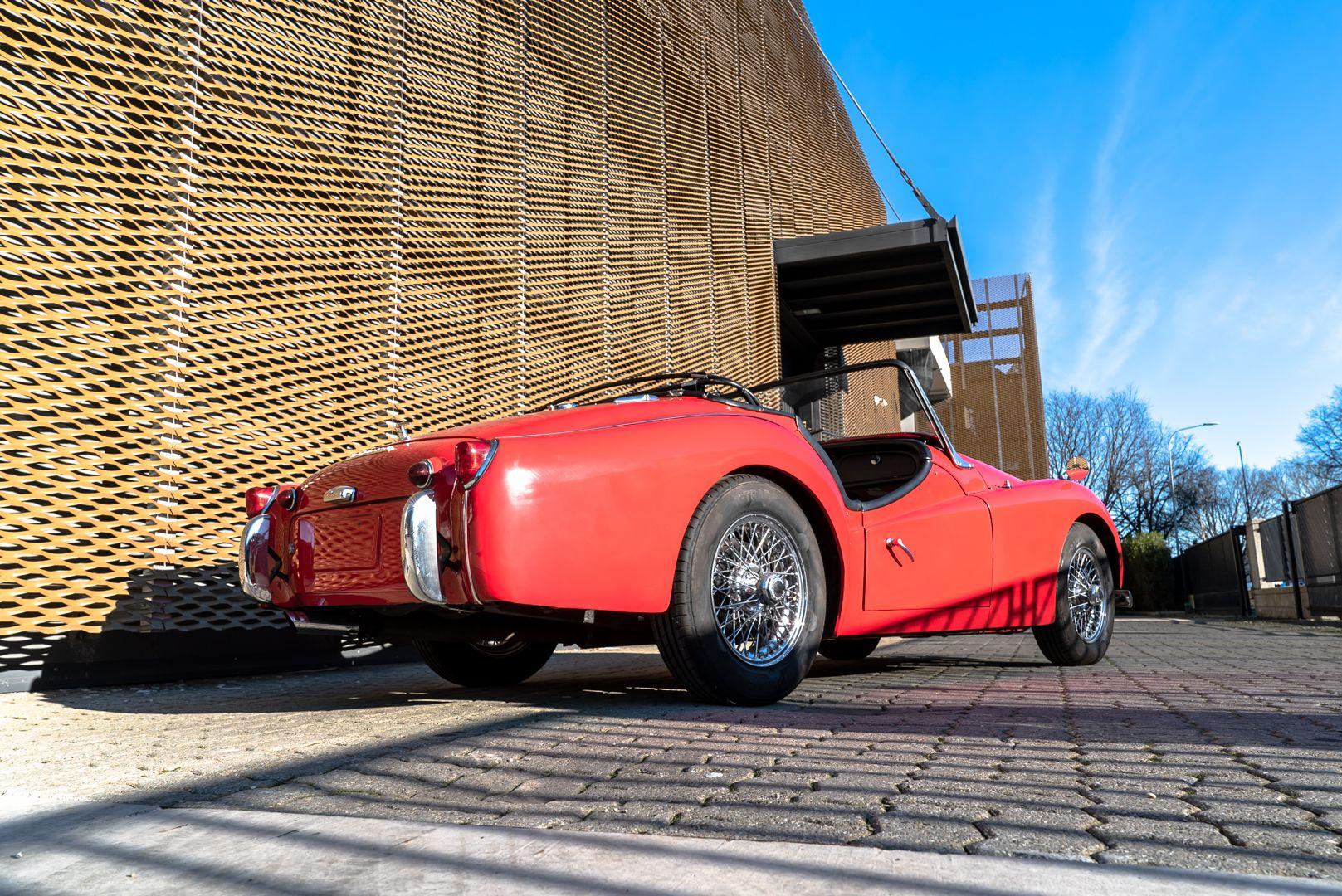 """1958 Triumph TR3A """"Small Mouth"""" 59690"""