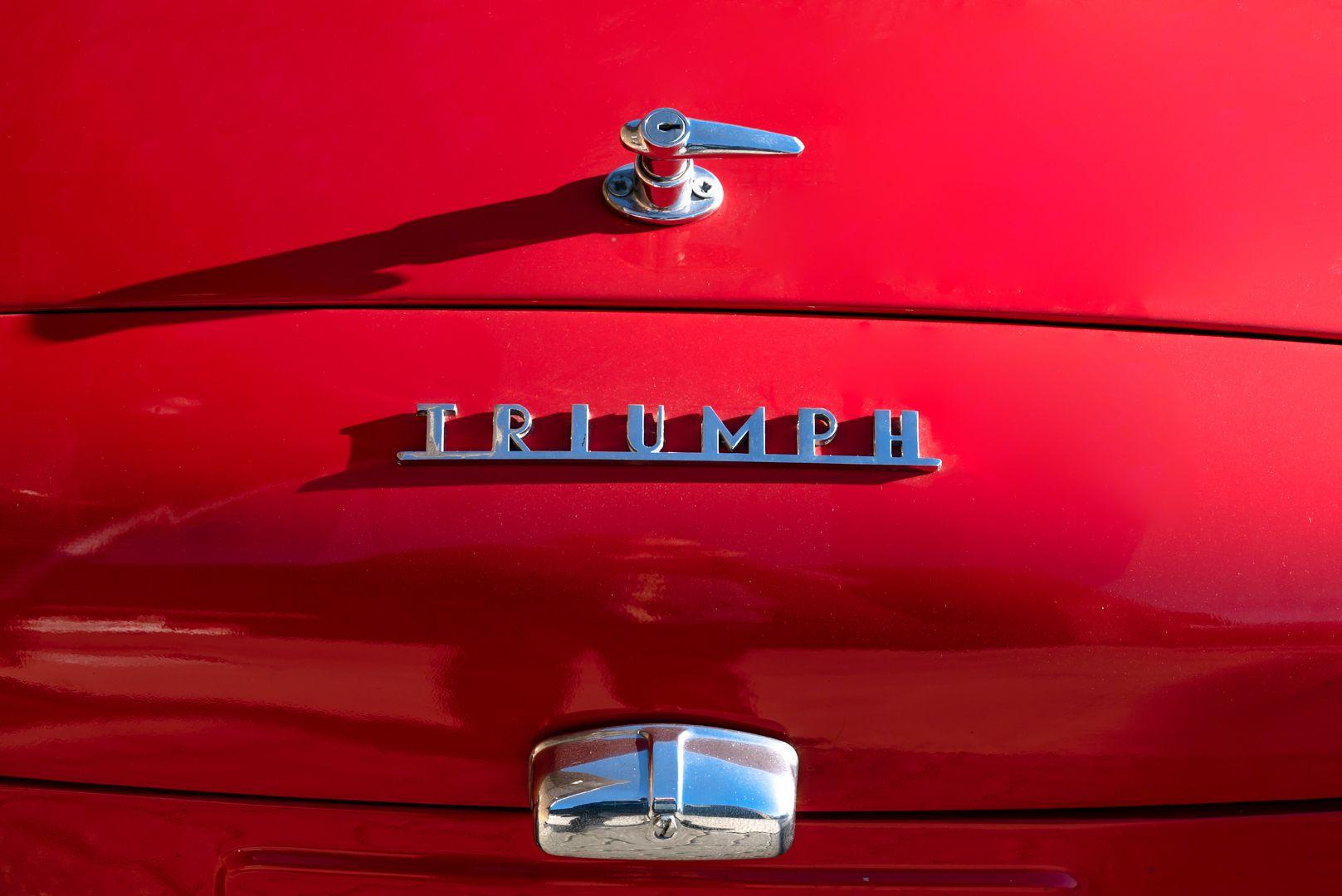 """1958 Triumph TR3A """"Small Mouth"""" 59706"""