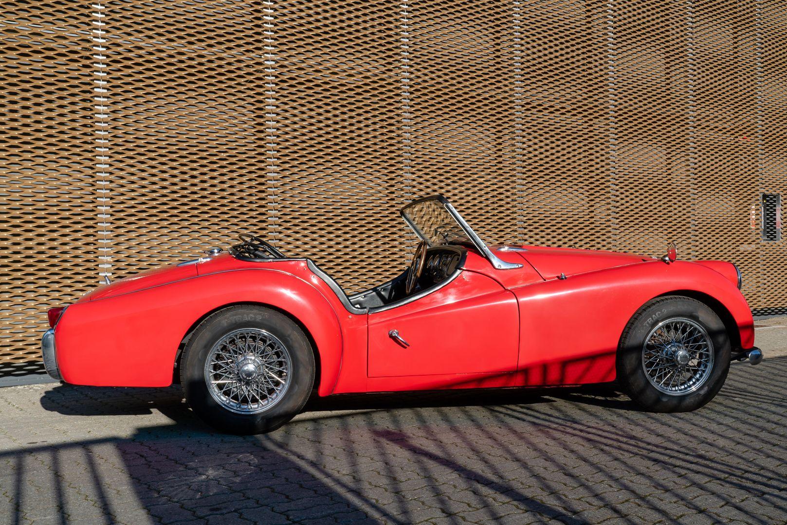 """1958 Triumph TR3A """"Small Mouth"""" 59679"""