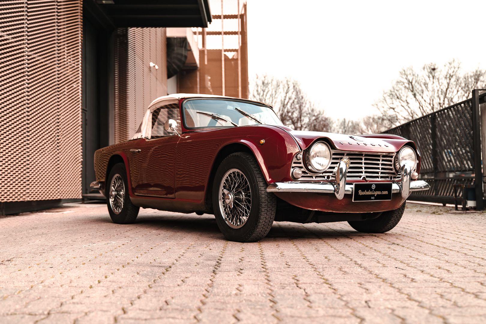 1963 Triumph TR4 Sport 63063