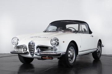 1962 Alfa Romeo Giulia spider 1600