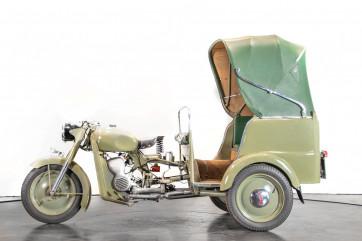 1956 Benelli 125 Leoncino Rikshaws