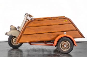 1953 Piaggio Vespa Sidecar faro basso