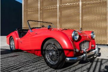"""1958 Triumph TR3A """"Small Mouth"""""""