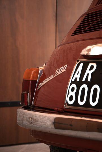 1963 Fiat 500 D 70463
