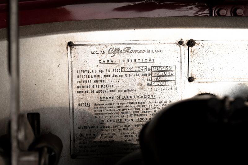 1947 Alfa Romeo Freccia d'oro 6C 2500 Sport 61725