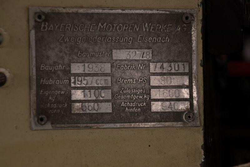 1938 BMW 327/28 22107