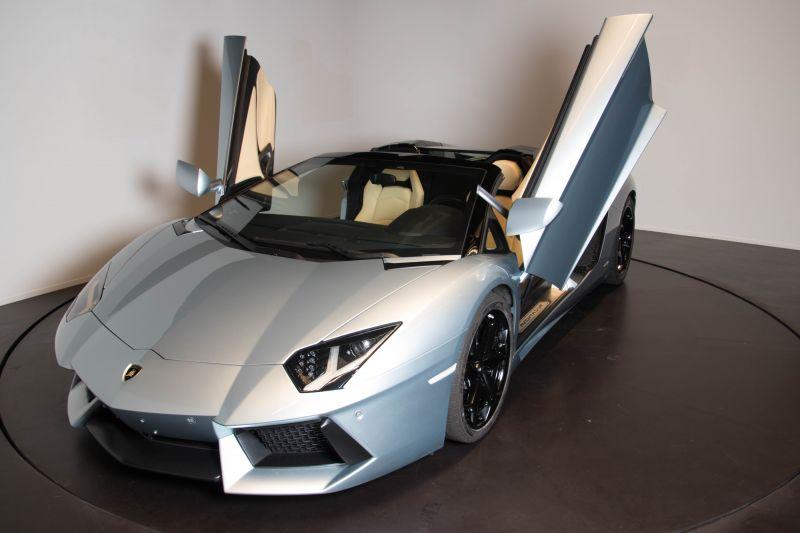 2014 Lamborghini Aventador Roadster  3821