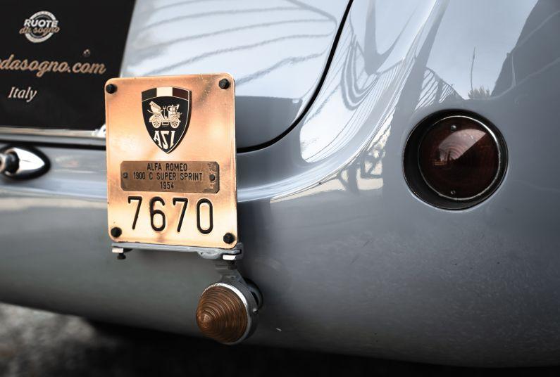 1954 Alfa Romeo 1900 C Super Sprint 73055