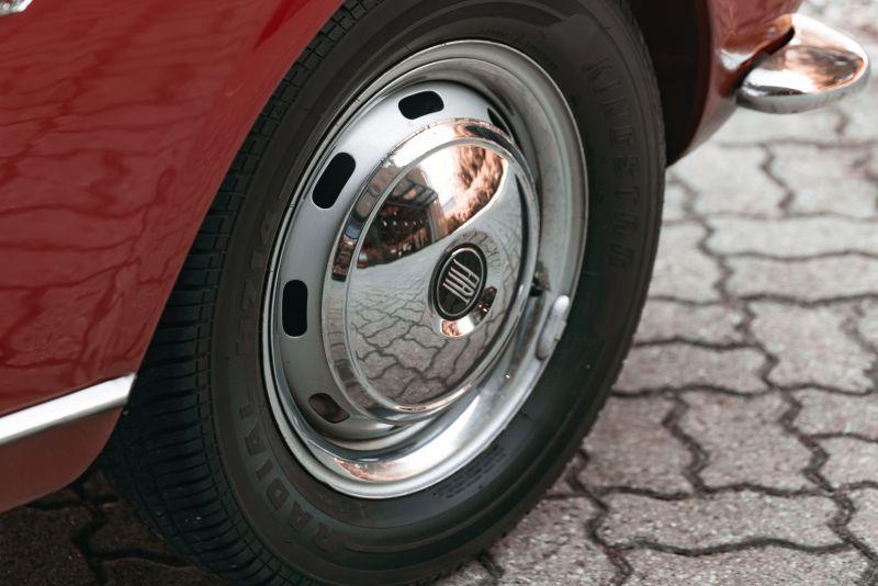 1962 Fiat 1200 Cabriolet Pininfarina 76334