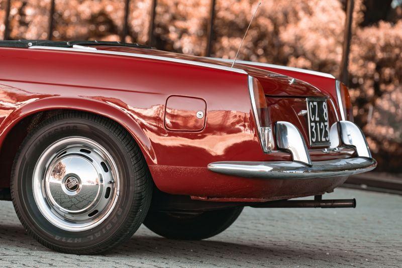1962 Fiat 1200 Cabriolet Pininfarina 76327