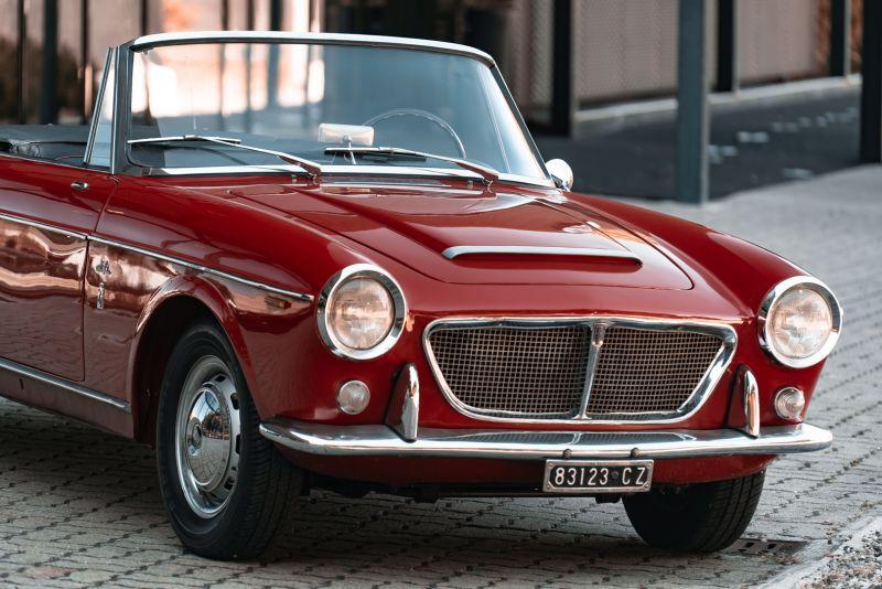 1962 Fiat 1200 Cabriolet Pininfarina 76319