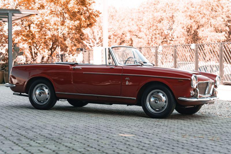 1962 Fiat 1200 Cabriolet Pininfarina 76318