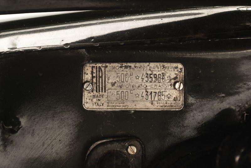 "1953 Fiat 500 C Topolino Furgone ""Innocenti"" 81651"