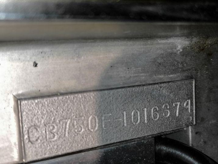 1970 Honda CB 750 Four K0 83857