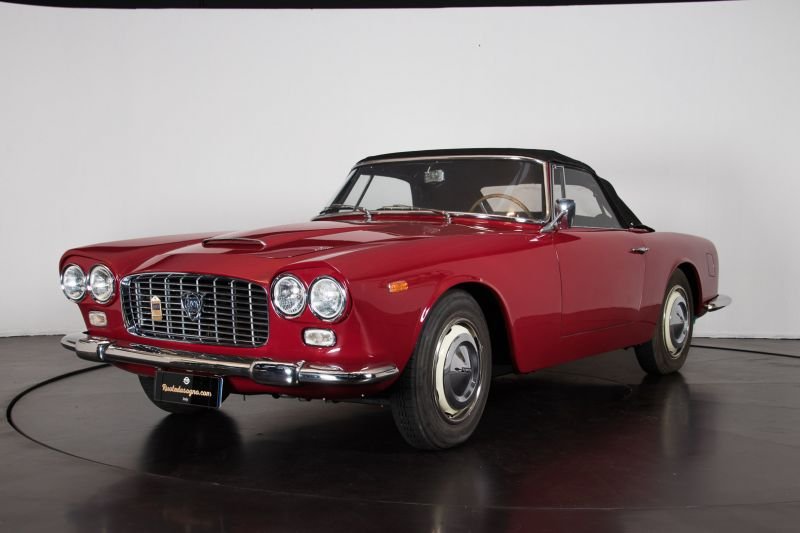 "1962 Lancia Flaminia GT ""Touring"" 2.5 Convertibile 14461"