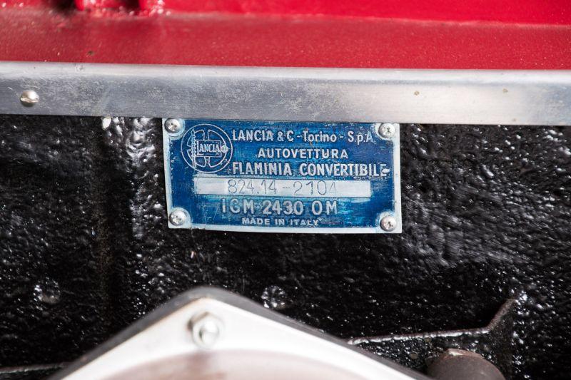 "1962 Lancia Flaminia GT ""Touring"" 2.5 Convertibile 14485"