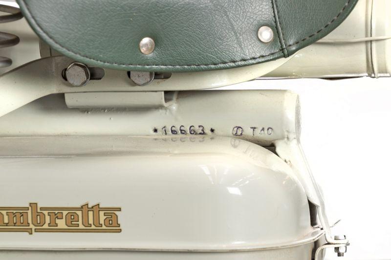 1958 Innocenti Lambretta 150 FD  38773
