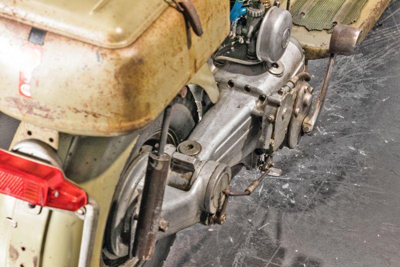1953 Innocenti Lambretta 125 C 38986