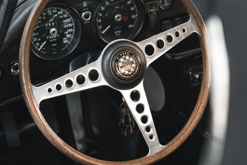 1968 Jaguar E-Type 4.2 Series 1 OTS 75618