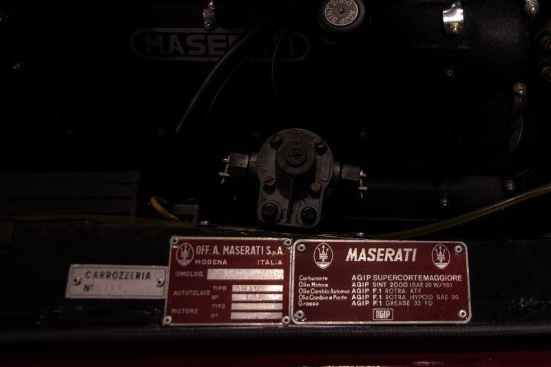 1972 MASERATI MEXICO 4.2 55638